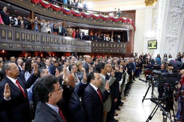 مصونیت قضایی 2 نماینده پارلمان ونزوئلا لغو شد