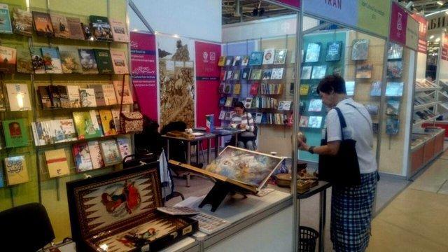 حضور فعال انتشارات دانشگاه علامه در نمایشگاه بین المللی کتاب مسکو