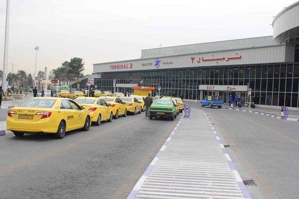 نرخ کرایه تاکسی های فرودگاه مهرآباد اصلاح گردد