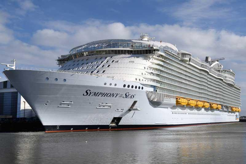 عکس اینستاگرام در بزرگترین کشتی کروز دنیا