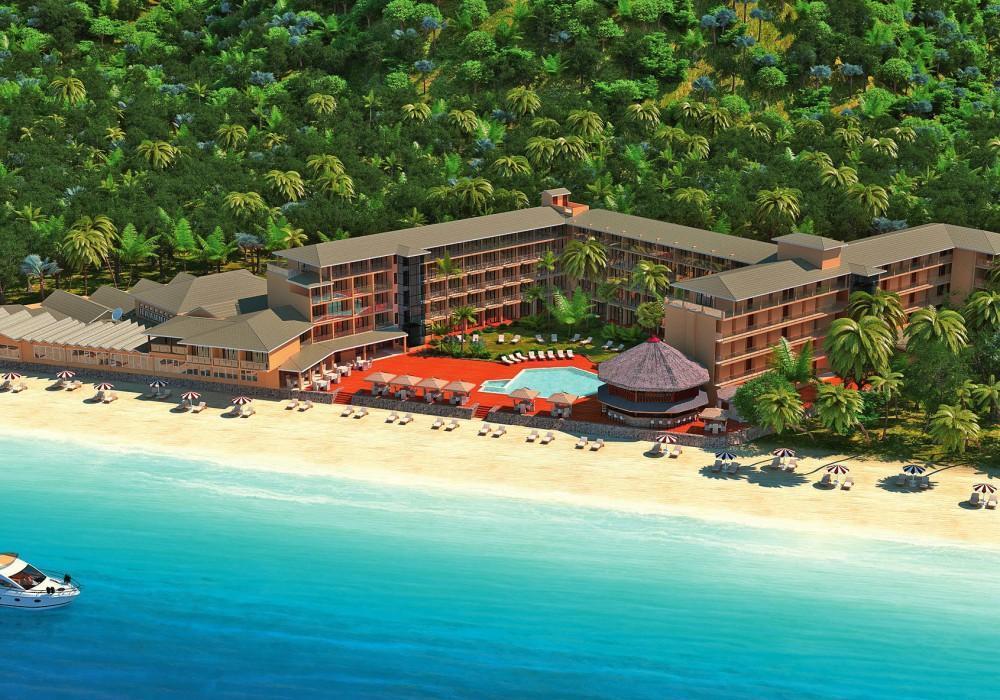 آشنایی با هتل 4 ستاره کرال استرند در سیشل