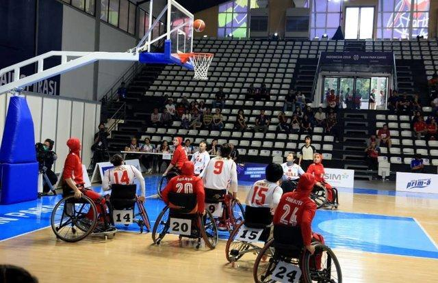 ناکامی تیم بسکتبال با ویلچر بانوان ایران در صعود به دیدار فینال