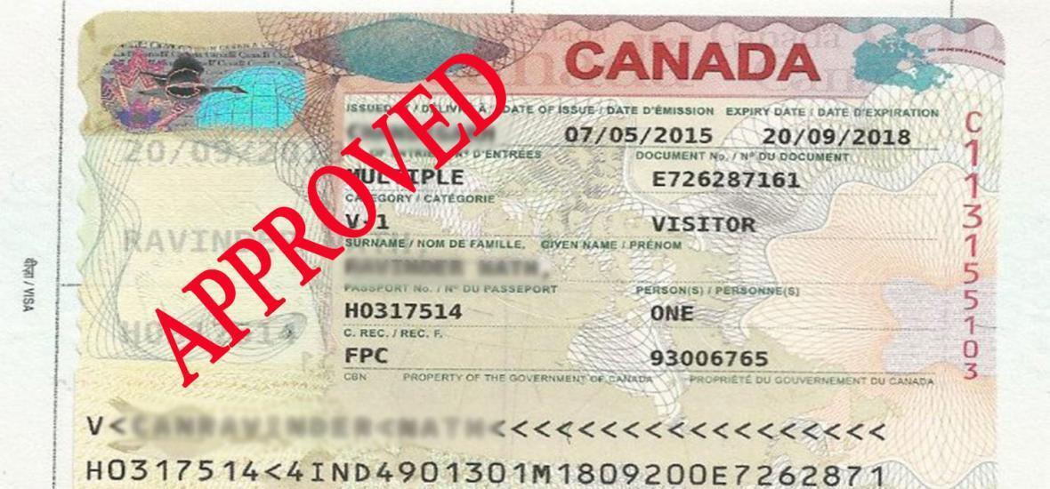 مدارک مورد احتیاج برای دریافت اقامت توریستی کانادا