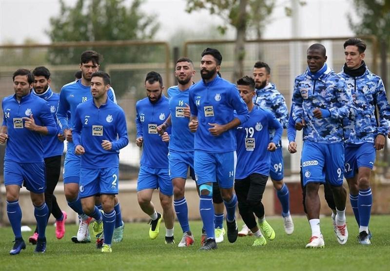 گزارش تمرین استقلال، بازگشت سهرابیان و صحبت های شفر با بازیکنان