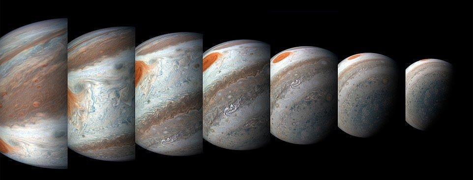 تصاویرى ناب و فوق العاده زیبا از سیاره مشتری