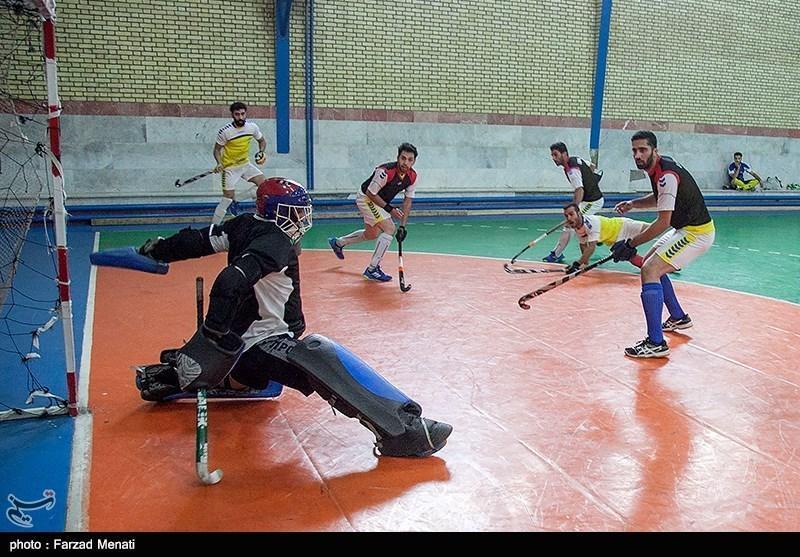 خاتمه دور رفت لیگ هاکی با قهرمانی استان مرکزی