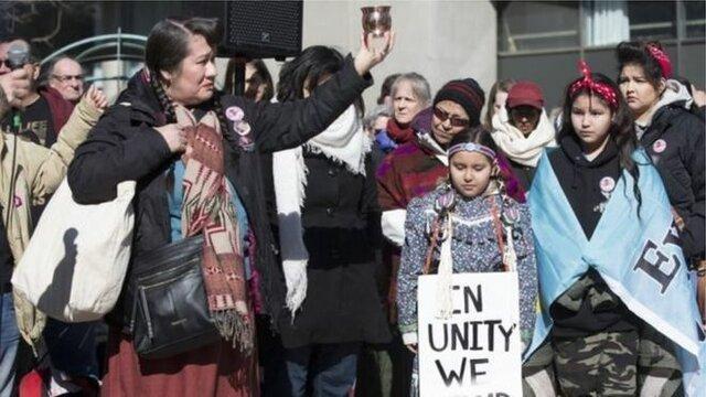 ستاد حقوق بشر ، کانادا را به نسل کشی متهم کرد