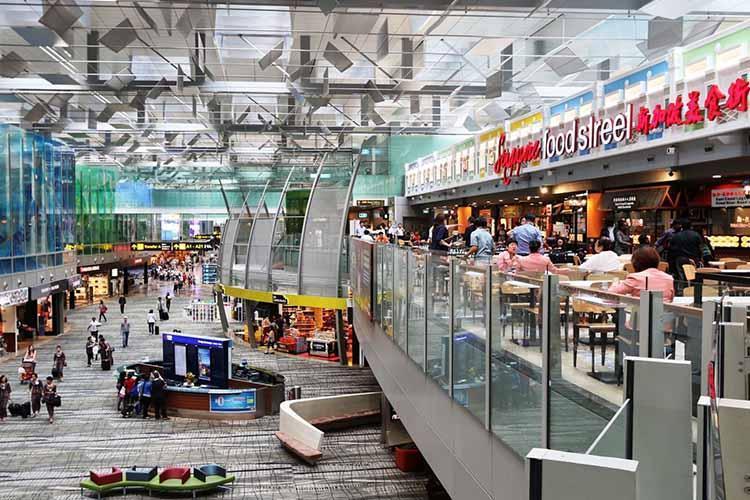 آشنایی با فرودگاه چانگی سنگاپور