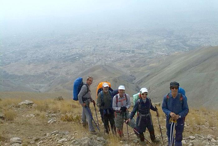 چین کلاغ، پاتوق کوهنوردان