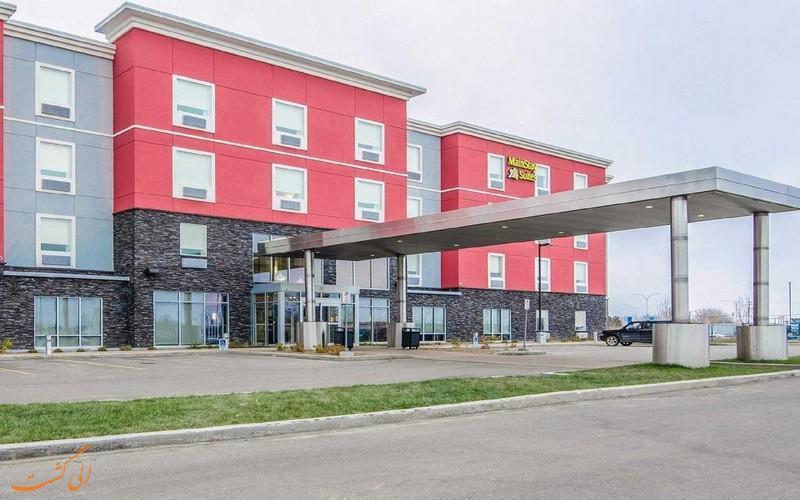 معرفی هتل 3 ستاره مین استی سویتز ساسکاتون کانادا