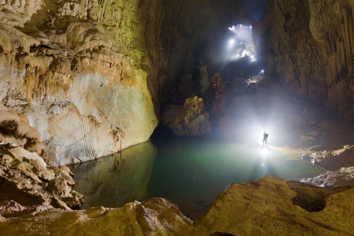 Son Doong، بزرگترین غار دنیا در ویتنام