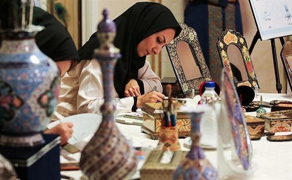 کارگاه های تولیدی صنایع دستی در روستاهای نمین راه اندازی می گردد