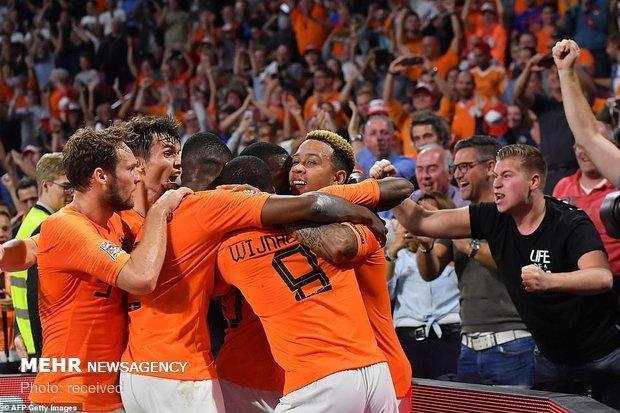 تیم ملی فوتبال هلند حریف پرتغال در فینال شد، انگلیس ناکام ماند