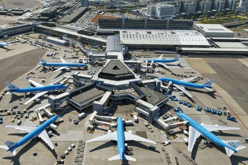 لغو 180 پرواز در فرودگاه اسخیپول آمستردام در پی مشکل سوختگیری