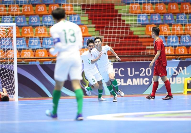 فوتسال قهرمانی زیر 20 سال آسیا، اندونزی در دیدار پرگل از سد ویتنام گذشت