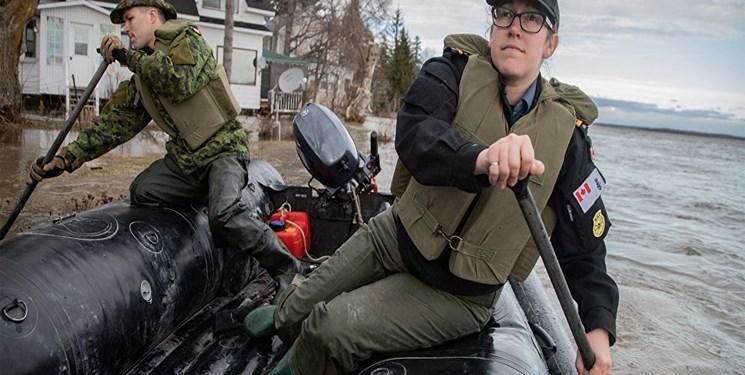 تخلیه 10 هزار نفر در مناطق سیل زده کانادا، هشدار درباره سیل های خطرناک تر