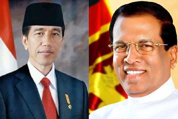 روسای جمهور سریلانکا و اندونزی به تهران می آیند