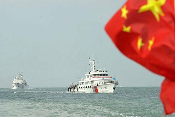 ناوشکن آمریکا خط قرمز چین را شکست