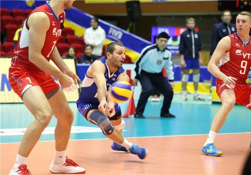 پیروزی ایتالیا بر روسیه در دیدار افتتاحیه