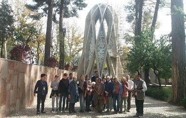 دانشجویان دانشگاه مونیخ آلمان به نیشابور رسیدند