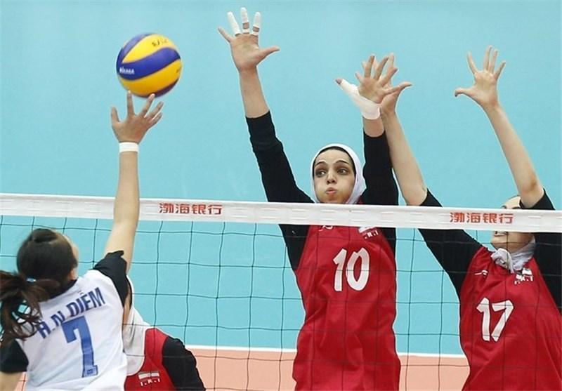 شکست ایران برابر ویتنام و کوشش برای کسب عنوان هفتمی