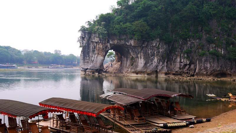 تپه فیلی، جاذبه شگفت انگیز چین