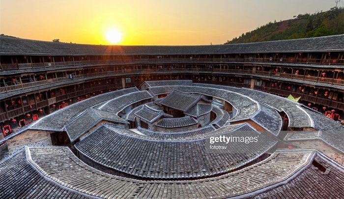 معماری ویژه زندگی جمعی در چین؛فوجیان تالو ، تصاویر