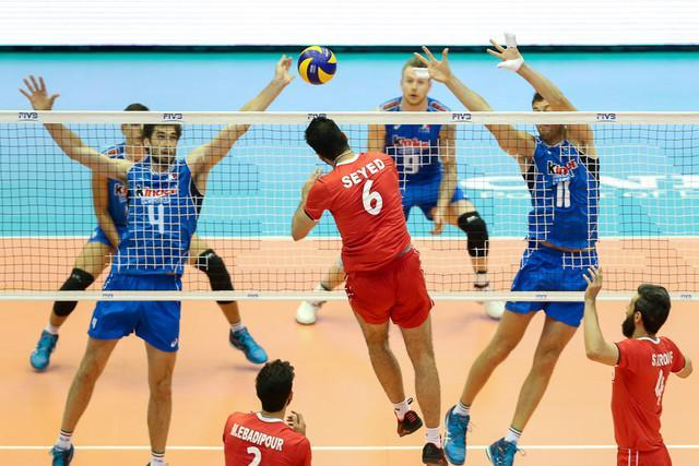 ایتالیا حریف ایران در یک چهارم نهایی والیبال المپیک