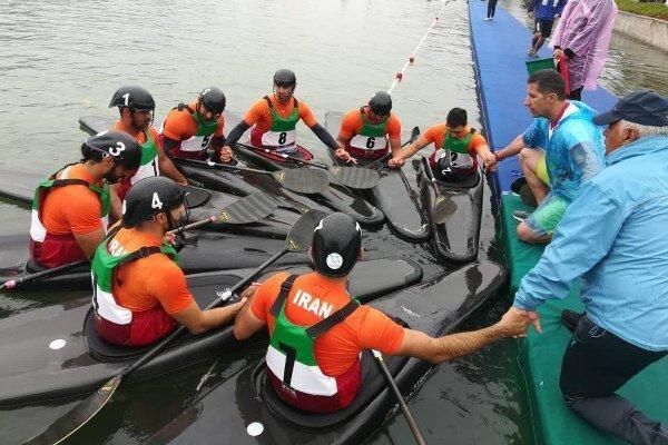 تیم کاناپولوی مردان ایران در کاپ آسیایی چین نایب قهرمان شد