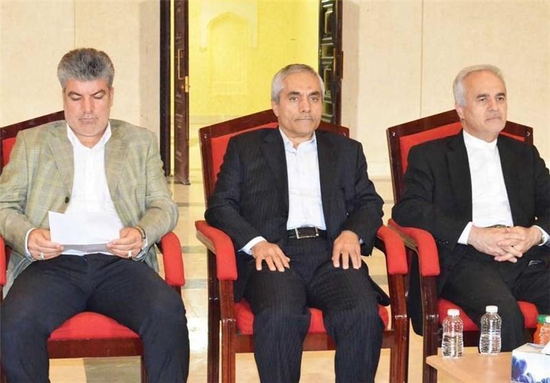 طاهری با دبیر فدراسیون و رئیس سازمان لیگ عمان دیدار کرد
