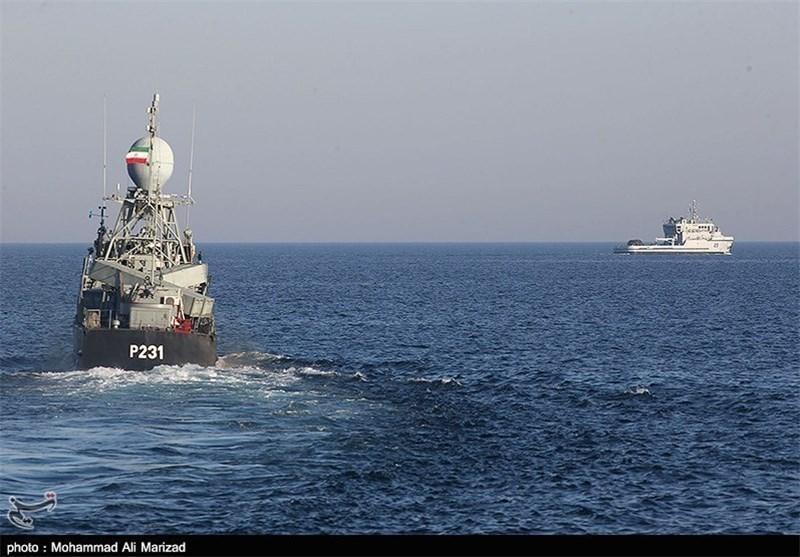 ابلاغ پیغام دوستی ایران به مردم عمان توسط ناوگروه چهل و یکم نداجا