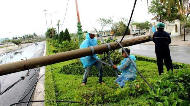 آماده باش مقامات ویتنام برای مقابله با طوفان