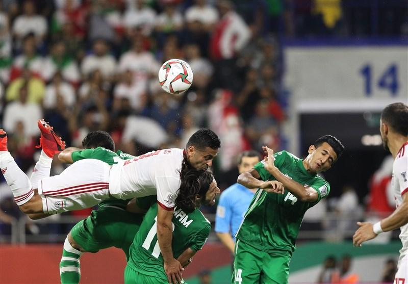 روایت رسانه عراقی از کاهش تنش ها در بازی با ایران با انتشار یک عکس