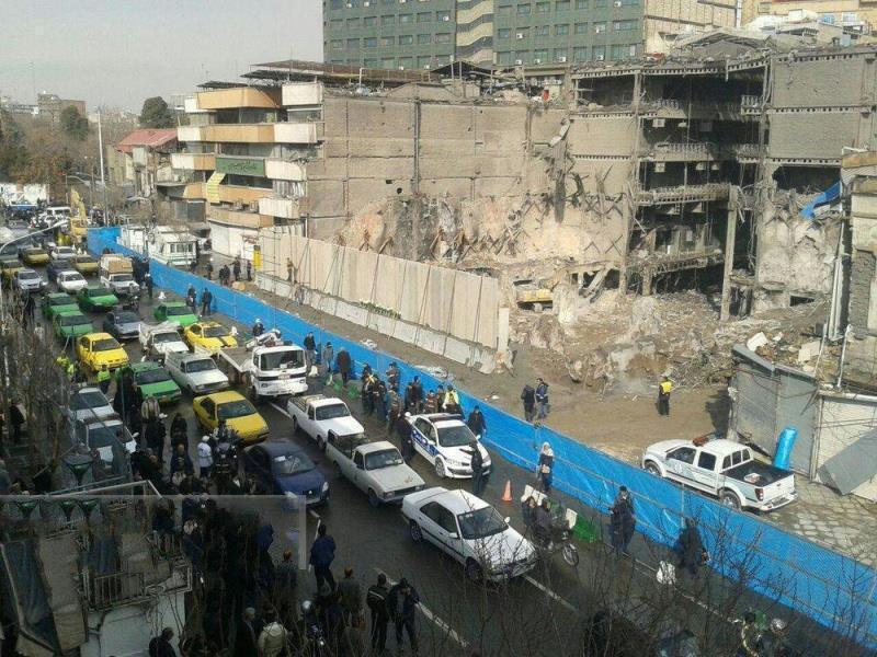 تسامح شهرداری تهران در احداث ساختمان پلاسکو