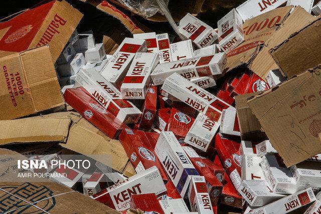 کشف 630 هزار نخ سیگار قاچاق در پاوه