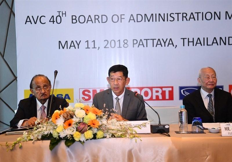 برگزاری نشست هیئت رئیسه AVC، جام کنفدراسیون والیبال آسیا حذف می گردد