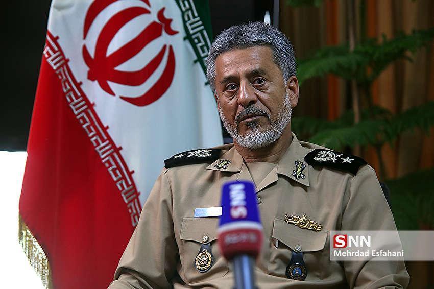 پیام امیر دریادار سیاری در پی شهادت خلبان محمدرضا رحمانی