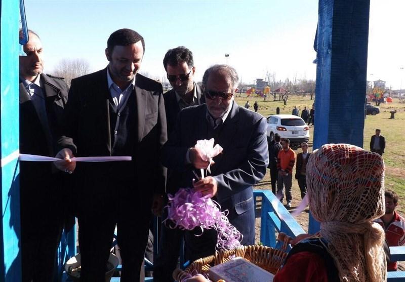 دبیر شورای عالی مناطق آزاد 2 پروژه گردشگری در منطقه آزاد انزلی افتتاح کرد