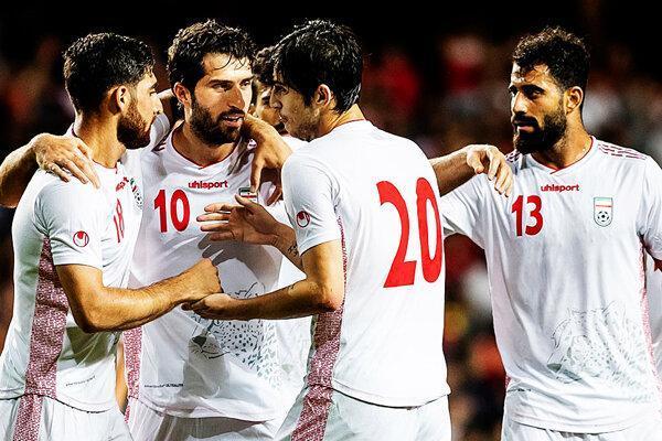 تیم ملی فوتبال ایران دوم آسیا و سی وسوم جهان