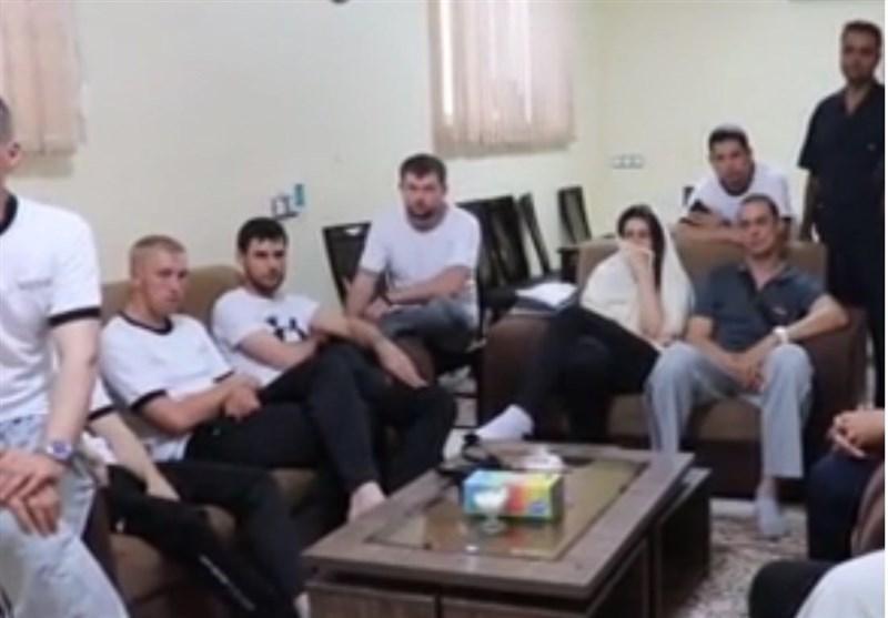 قدردانی خدمه نفتکش سانحه دیده از ایرانی ها