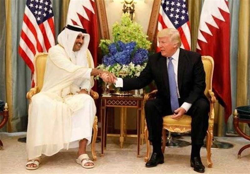 گفتگوی تلفنی ترامپ و امیر قطر