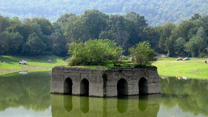 باغ تاریخی عباس آباد از آثار باستانی استان مازندران