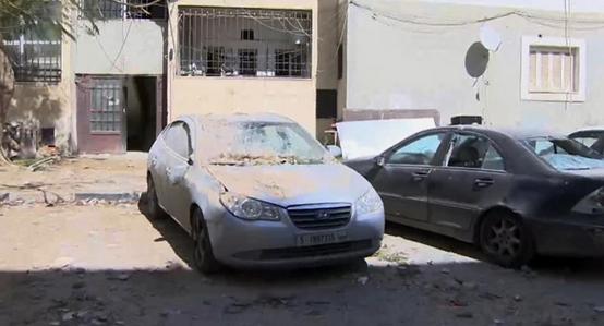 بمباران بیمارستان مبتلایان به کرونا در لیبی