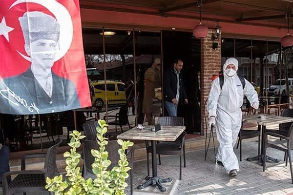شیوع شتابان کرونا در ترکیه ، آمار مبتلایان از 42 هزار نفر عبور کرد