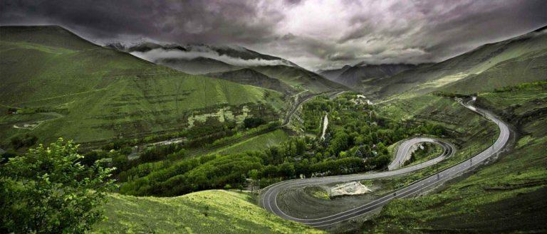 جاده هایی که خود دلیل سفرند