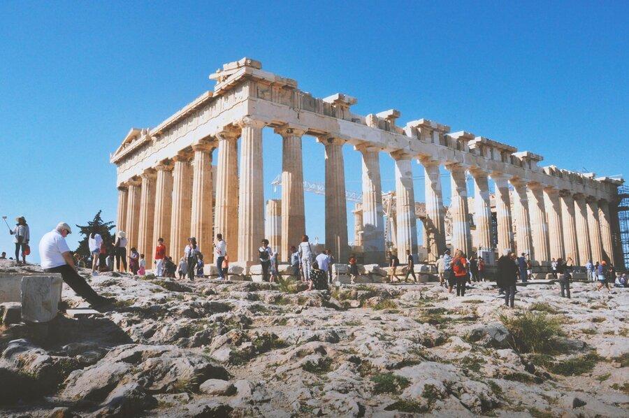 معرفی آکروپلیس: آتن، یونان