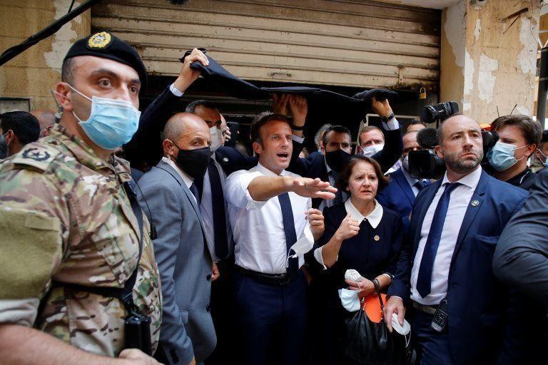 300 هزار بی خانمان در بیروت، هشتگ درهای خانه ما باز است داغ شد، ضرب الاجل مکرون برای اصلاحات در لبنان