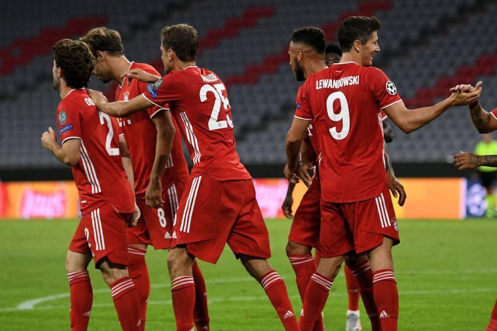 لیگ قهرمانان اروپا، بایرن مونیخ ترمز لیون را کشید، 10 برد پیاپی تا فینال