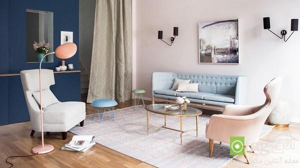 مدل های جدید رنگ پاستلی در دکوراسیون داخلی منزل 2015