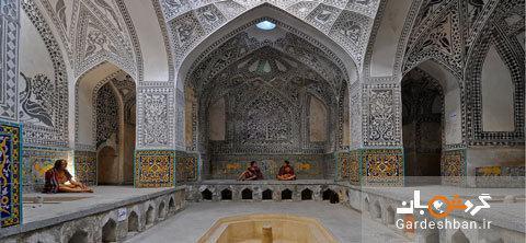 حمام خان سنندج؛بنای تاریخی و قدیمی کردستان، عکس